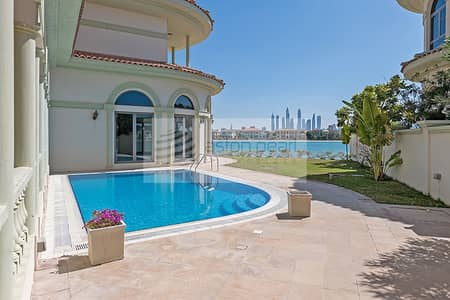 5 Bedroom Villa for Rent in Palm Jumeirah, Dubai - Most Exclusive Beautiful Signature Villa