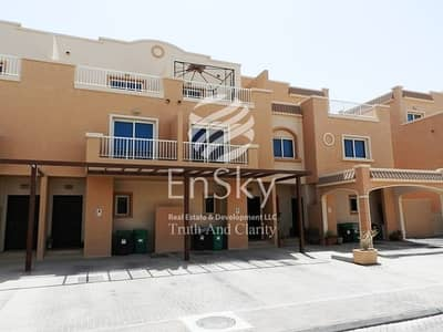 فیلا  للبيع في الريف، أبوظبي - Excellent Single Row Corner 5+M with Ready To Move
