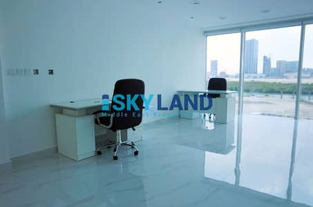 Office for Rent in Al Reem Island, Abu Dhabi - VACANT ! Brand New w/ Sea View + Parking - Multiple Cheques