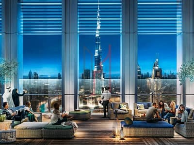 2 Bedroom Apartment for Sale in Downtown Dubai, Dubai - Live Royale Only 5% Booking  50%DLD OFF