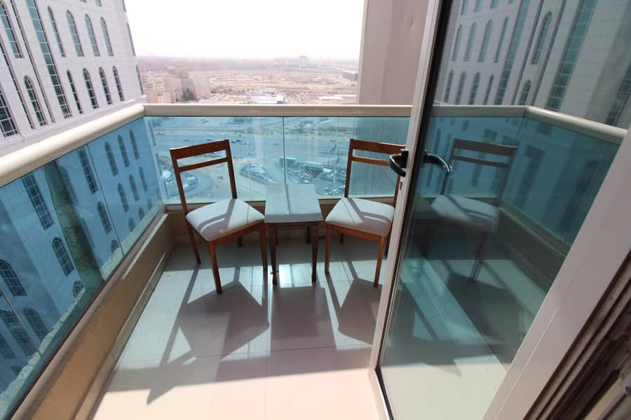 FULLY FURNISHED 2BHK/RENT/BALCONY IN JLT
