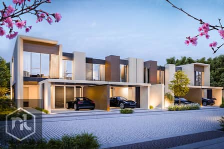 3 Bedroom Townhouse for Sale in Dubailand, Dubai - Cherrywoods Townhouses by Meraas Booking from 70