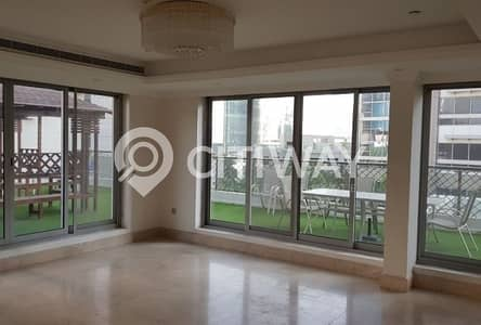 4 Bedroom Villa for Rent in Business Bay, Dubai - Peaceful Home in the Heart of Dubai with Private Garden