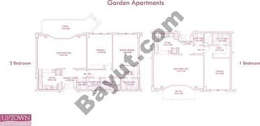Garden Apartment one and studio
