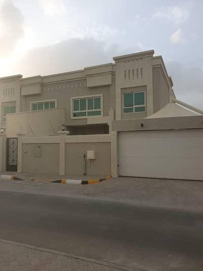4 Bedroom Villa for Rent in Al Azra, Sharjah - 4 B/R HALL FLAT VILLA IN AL AZRA AREA