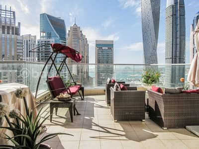 4 Bedroom Penthouse for Sale in Dubai Marina, Dubai - Unique opportunity to buy one of the most impressive penthouses in Dubai Marina