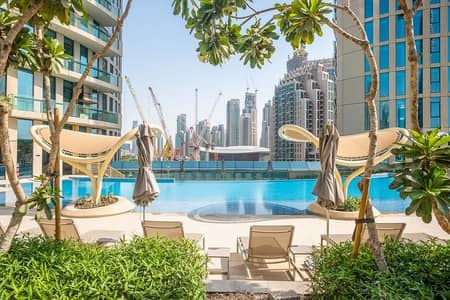 1 Bedroom Flat for Sale in Downtown Dubai, Dubai - buy apartment in dubai downtown with burj khalifa view