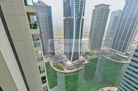 2 Bedroom Flat for Rent in Jumeirah Lake Towers (JLT), Dubai - Well Maintained 2BR+M in Al Seef 3 High Floor