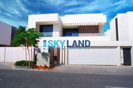 5 Bedroom Villa for Rent in Yas Island, Abu Dhabi - luxurious! 5 beds villa big plot type T3
