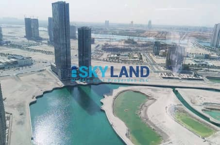 Office for Rent in Al Reem Island, Abu Dhabi - vacant! huge fitted office on high floor