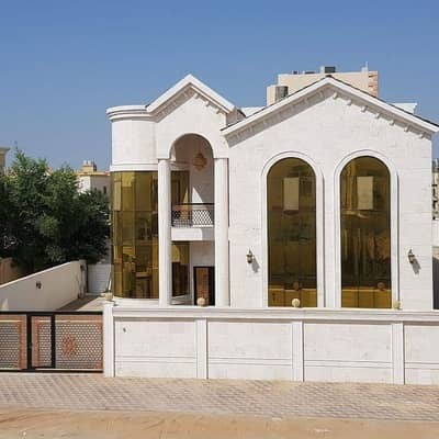 5 Bedroom Villa for Sale in Al Zahraa, Ajman - Free ownership of all nationalities with bank financing in water and electricity. .