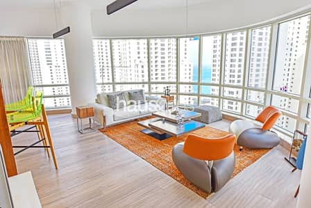 3 Bedroom Penthouse for Rent in Dubai Marina, Dubai - Al Sahab Penthouse   Upgraded   Spacious