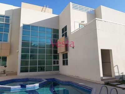 6 Bedroom Villa for Rent in Between Two Bridges (Bain Al Jessrain), Abu Dhabi - Contemporary 6 bedrooms villa