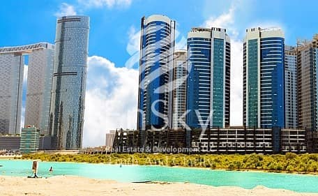 1 Bedroom Apartment for Sale in Al Reem Island, Abu Dhabi - Hot Deal for a Sea View 1 Bedroom Apartment