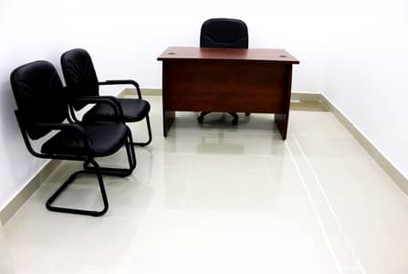 Office for Rent in Corniche Area, Abu Dhabi - Great Offer with ready Tawtheeq Semi-Furnished Offices