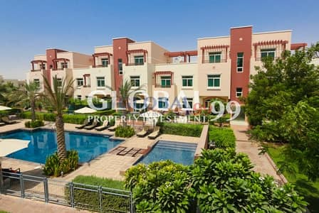 1 Bedroom Flat for Rent in Al Ghadeer, Abu Dhabi - 2 PAYMENTS | TERRACED 1 BR Apt for Rent
