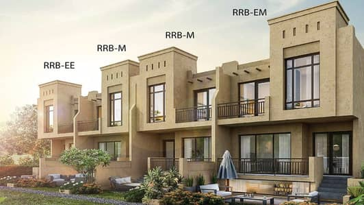 3 Bedroom Villa for Sale in Akoya Oxygen, Dubai - Lets navigate in the legacy past through the authentic Islamic by owning villa of BAIT AL ASEEl