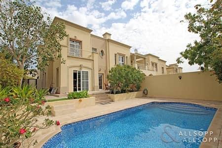 فیلا 3 غرف نوم للبيع في الينابيع، دبي - Swimming Pool|Upgraded | Extended|3 Beds