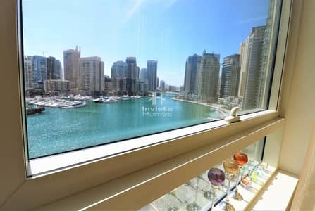 3 Bedroom Apartment for Sale in Dubai Marina, Dubai - 3 Beds | Marina View | Vacant On Transfer