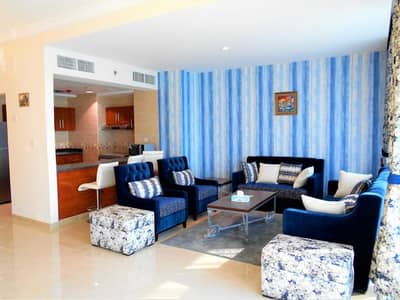 1 Bedroom Apartment for Sale in Corniche Ajman, Ajman - Best location in Ajman on the sea
