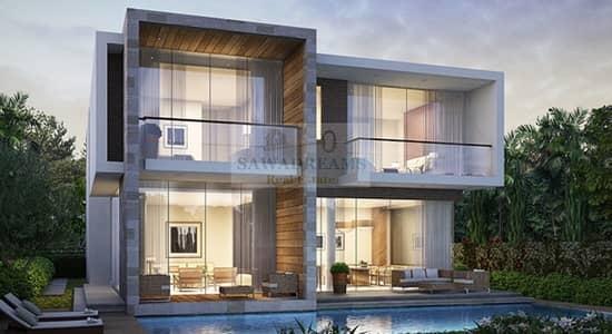 3 Bedroom Villa for Sale in DAMAC Hills (Akoya by DAMAC), Dubai - Fendi Branded Villas. Ready Golf course community. Completion 2021.