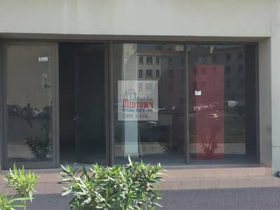 Shop for Rent in International City, Dubai - fully well fitted big size shop available for rent in russia cluster 732 sqft only 35k