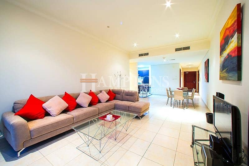 Vacant: Furnished 2BR Golf / Marina View