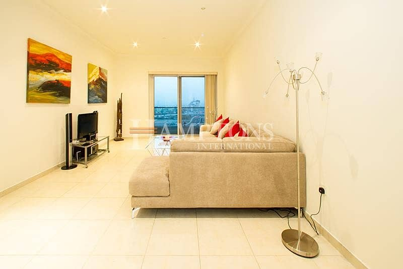 2 Vacant: Furnished 2BR Golf / Marina View
