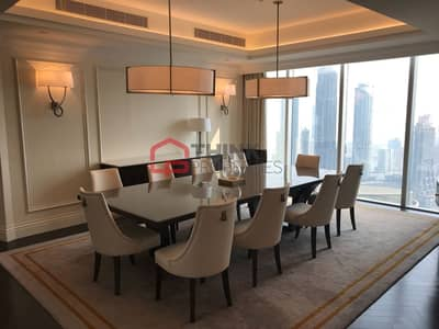 4 Bedroom Apartment for Rent in Downtown Dubai, Dubai - Luxurious Modern Style 4BR+M  Sky Collection