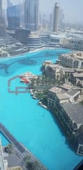 10 Full Fountain and Burj Khalifa Views 2BR High Floor