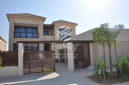 5 Bedroom Villa for Sale in Saadiyat Island, Abu Dhabi - Genuine Price Buy It Now Stunning Turquoise Sea