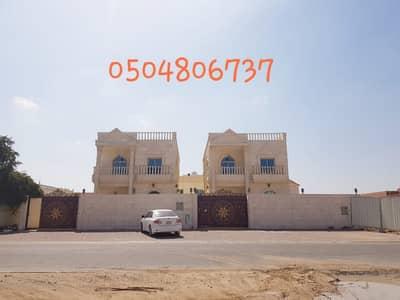 5 Bedroom Villa for Sale in Al Rawda, Ajman - Villa for sale on the street of bitumen free for all nationalities