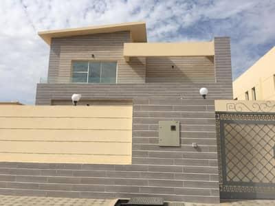 5 Bedroom Villa for Sale in Al Rawda, Ajman - Marvelous brand new vila for sale marble frontage .