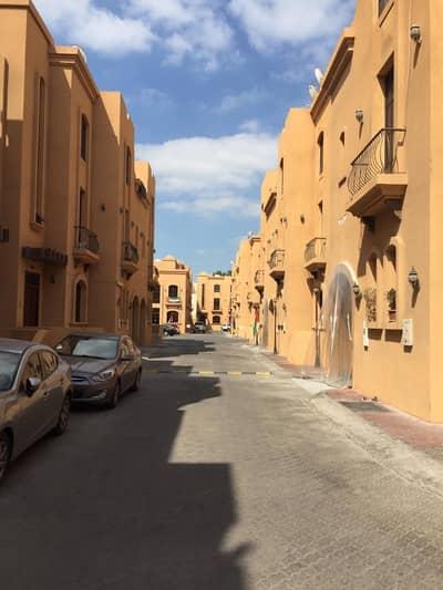 Studio for Rent in Al Gurm, Abu Dhabi - studio for rent in compound   bathroom   kitchen al curm