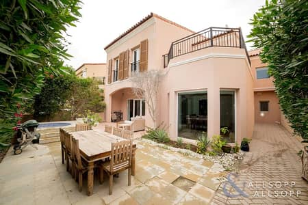 3 Bedroom Townhouse for Sale in Green Community, Dubai - Backing Green | Close to Pool | Must View<BR/>