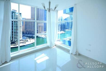 2 Bedroom Apartment for Sale in Dubai Marina, Dubai - Exclusive | Full Marina Facing | Maids |
