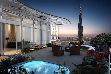 2 Bedroom Apartment for Sale in Downtown Dubai, Dubai - Only 5% for Down payment | Offer 50% on completion