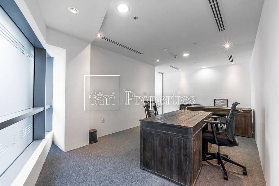 10 Combined Fitted Office in Park Towers B!