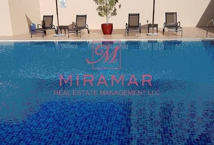 2 Bedroom Apartment for Rent in Mussafah, Abu Dhabi - LARGE 2 BEDROOM WITH MAID ROOM SEA VIEW