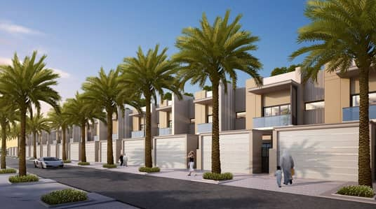 2 Bedroom Villa for Sale in Mohammad Bin Rashid City, Dubai - own your villa in MBR CITY with no DLD CHARGE no DOWNPAYMENT and 8 YEARS INSTALLMENTS FROM DEVELOPER