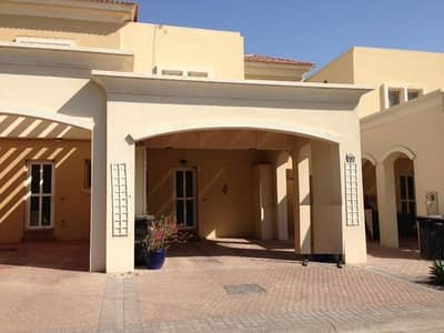 2 Bedroom Townhouse for Rent in Arabian Ranches, Dubai - 4 chqs, Type 4M, in Al Reem 1, Arabian Ranches