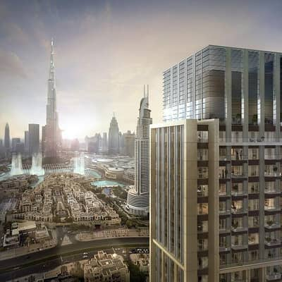 1 Bedroom Apartment for Sale in Downtown Dubai, Dubai - Pay 50K and invest a few steps from Burj khalifa