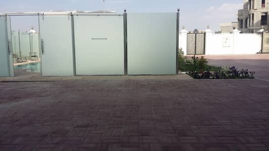 6 Bedroom Villa for Rent in Nad Al Sheba, Dubai - LOW RENT; NICE LANDSCAPE 6 BED ROOM MAID ROOM MULHAQ PRIVATE POOL VILLA FOR RENT IN NAD AL SHEBA-4