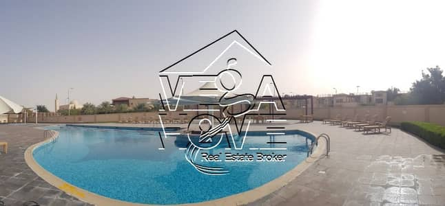 5 Bedroom Villa for Rent in Khalifa City A, Abu Dhabi - Luxury 5 Master Bed with Own Swimming Pool