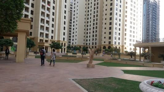 1 Bedroom Apartment for Rent in Jumeirah Beach Residence (JBR), Dubai - JBR Bahar 1 Bright and large One Bedroom with double balcony partial sea view Higher floor