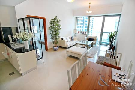 1 Bedroom Flat for Sale in Dubai Marina, Dubai - Rented | Immaculate | Large One Bedroom