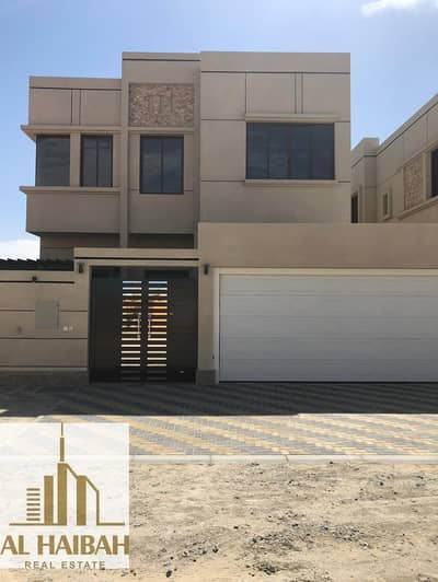 5 Bedroom Villa for Sale in Al Rawda, Ajman - For sale villa two floors new finishes very high personality