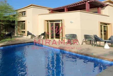 4 Bedroom Villa for Rent in Al Raha Golf Gardens, Abu Dhabi - GARDENIA PRIVATE POOL VILLA TYPE HOT DEAL
