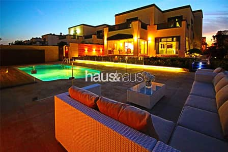 5 Bedroom Villa for Rent in Jumeirah Park, Dubai - Ultimate Luxury Boutique Upgraded Villa!