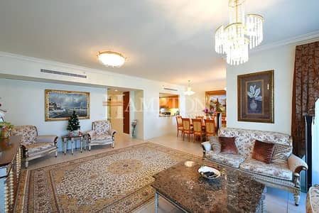 3 Bedroom Flat for Sale in Dubai Marina, Dubai - P. Furnished   Marina View   3BR + M + S